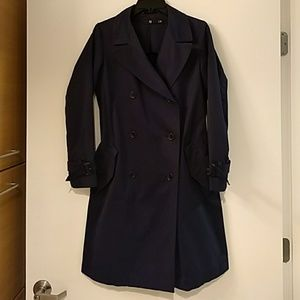 +J Jil Sander for Uniqlo Navy Trench