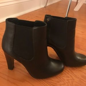 Vince Canute black heeled booties -7.5