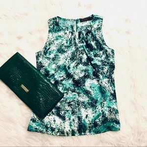 The Limited Green Print Top
