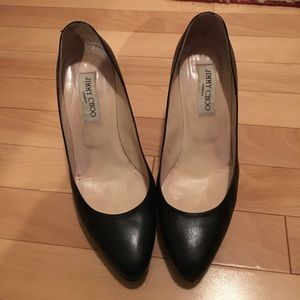 "Jimmy Choo pumps.  4"" heels."