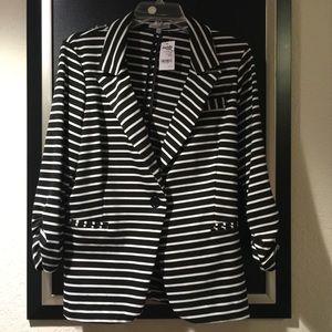 NWT Striped Blazer