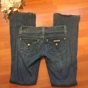 Hudson Signature bootcut flap pocket jeans 26