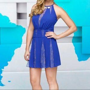Gorgeous Blue BCBGMaxAzria Cocktail Dress