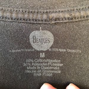 Tops - The Beatles Black T-Shirt