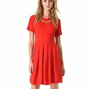Shoshanna Valentina red Sweater Dress NWT Medium
