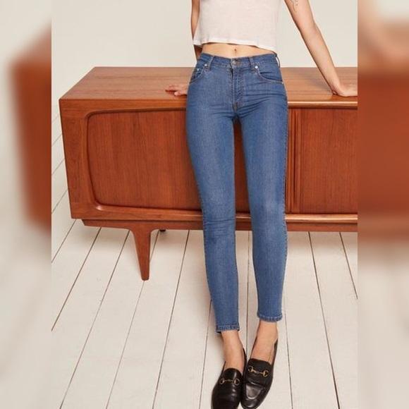 7c1433e7528fc8 Reformation Jeans | High Skinny | Poshmark