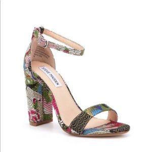 Steve Madden Carrson Brocade Embroidered Sandals