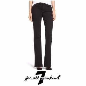 7 For All Mankind Corduroy Black Bootcut Jeans