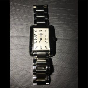 Authentic Coach Silver Watch.
