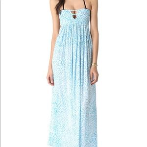 NEW Anthropology INDAH Long Maxi Dress Sz.L