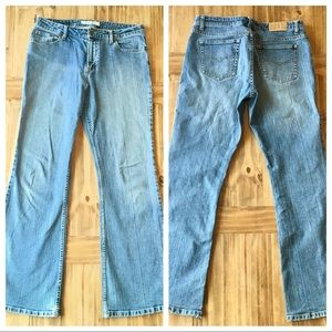Vintage Maurice's low rise flare jeans