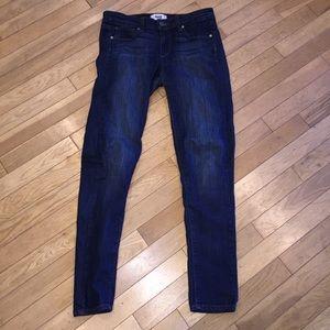 Women's Paige peg skinny jeans denim