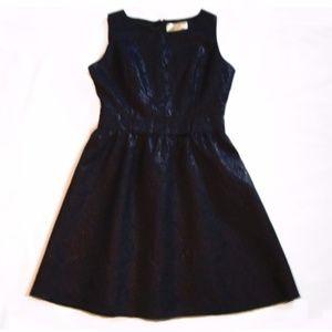 Little Black Dress Emboss Flowers size S