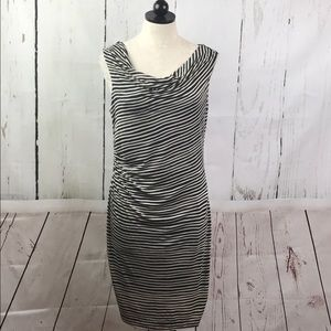 Ann Taylor LOFT Ruched Shift Dress