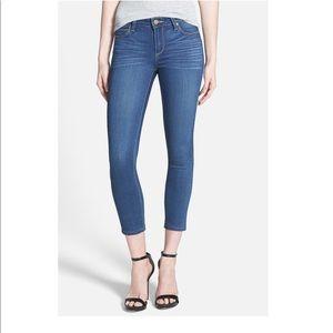 Paige Verdugo Crop Jeans 27x26.  Perfect condition