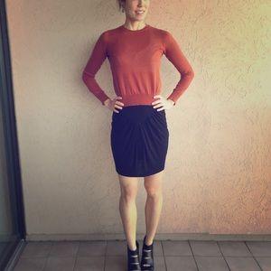 Zara body con mini skirt