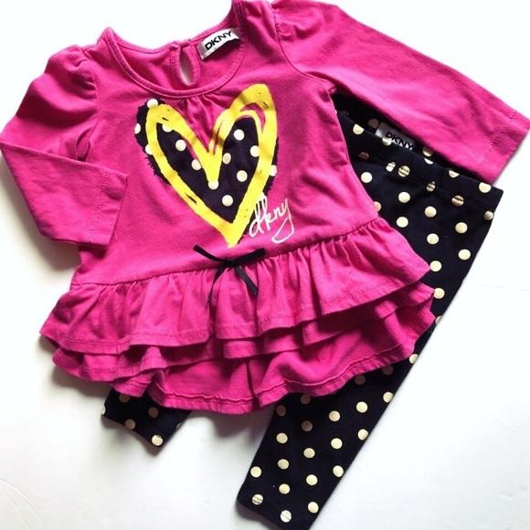 69bfdb42c Dkny Matching Sets | Baby Girls 2 Piece Outfit | Poshmark