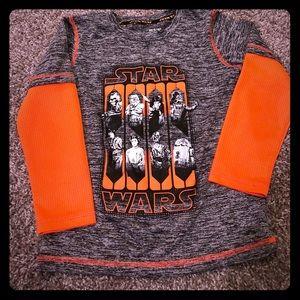 Other - Boys Star Wars long sleeve tee