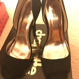 Charlotte Russe suede sandals