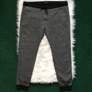 7 For All Mankind Men's Heather Grey Joggers SZ 40