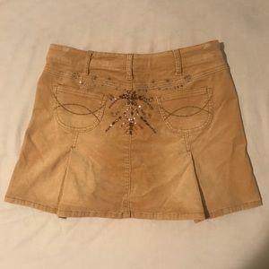Dresses & Skirts - Corduroy Skirt with beading