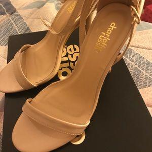 Charlotte Russe strapless sandals
