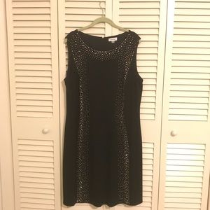 Calvin Klein LBD with BLING!!