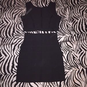 BCBG Body Con Two piece cut out dress