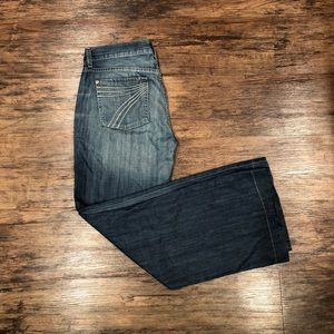 7 For All Mankind DOJO Jeans Trousers Size 30 EUC