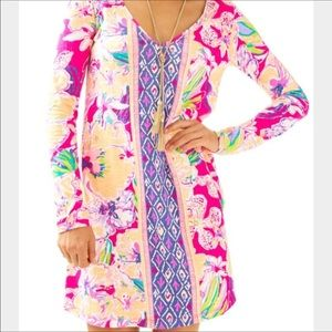 Lilly Pulitzer Paradis dress Tipping Point XS