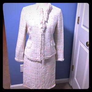 Nipon Boutique jacket and midi pencil skirt suit