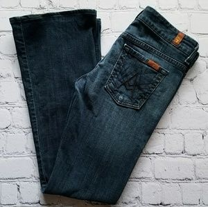 7 For All Mankind Lexie A Pocket Jeans Sz 26