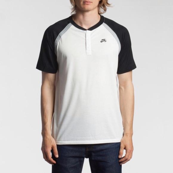 057b465d5a4e Nike Shirts   Mens Sb Drifit Davis Henley Tshirt   Poshmark