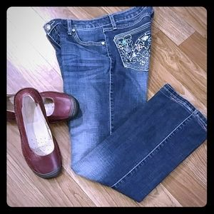 'Custom' Rock 47 Jeans by Wrangler