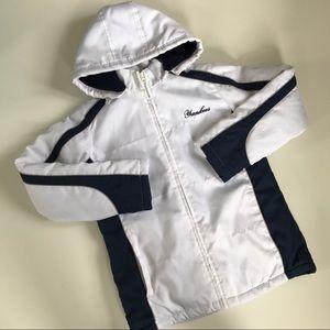 Vintage New York Yankees Women's Coat MLB White