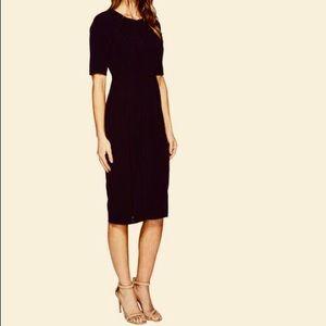 Maggy London Classy Sheath Black Dress