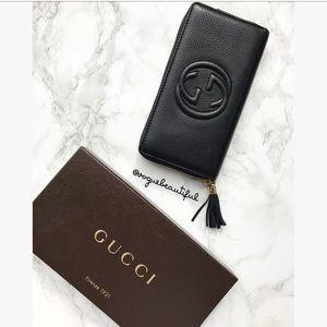 NWB Gucci Soho Continental Cellarius Wallet