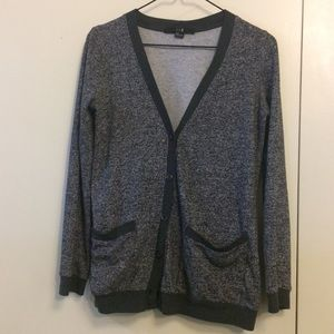 Forever 21 Heather Gray Cardigan