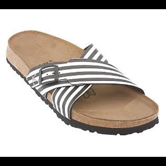 8b71a6b82d93 NWOT Birkenstock Birki s Striped Santosa Sandal