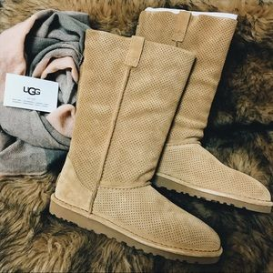 UGG Classic Unlined Tall Perforated Boot
