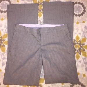Gap Hip Slung Fit Stretch pin striped pants