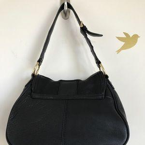 71480b3524 Chaps Bags - Sale🍁 Ralph Lauren Chaps Black Leather Hobo Bag