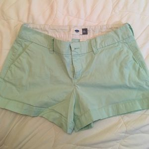 Old Navy mint green shorts
