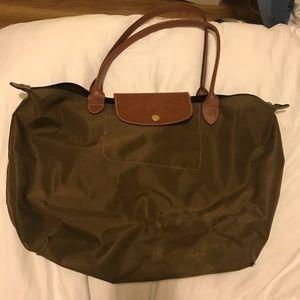 Large long champ bag