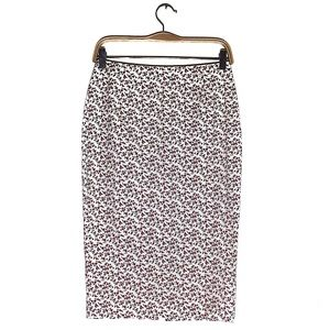 Theory Floral Pencil Skirt