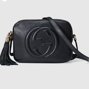 Gucci Soho leather disco bag in black