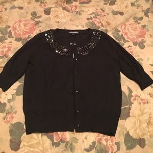 Express cardigan with embellishments! Never worn!