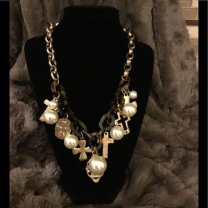 Goldtone Fashion Necklace