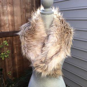 Fun VINTAGE Faux Fur Wrap