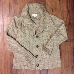 Like New Cream/Tan St. John's Bay Sweater M